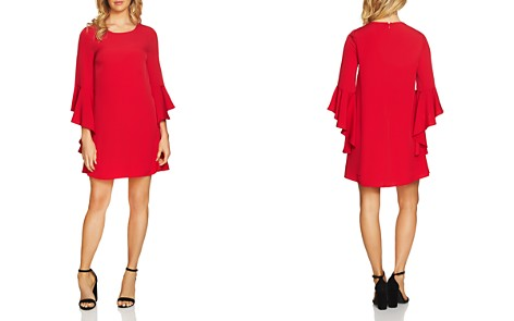 CeCe by Cynthia Steffe Ashley Bell-Sleeve Dress - Bloomingdale's_2