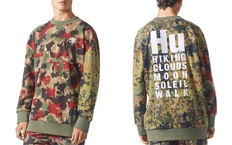 adidas Originals Camouflage Oversized Crewneck Sweatshirt - Bloomingdale's_2
