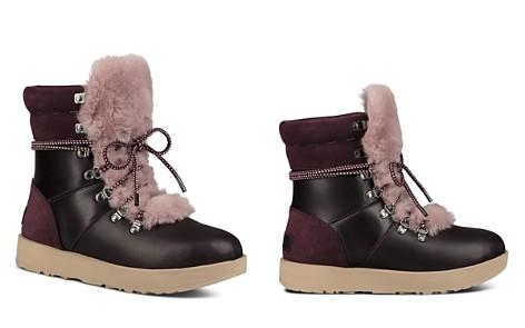 UGG® Vicki Waterproof Leather & Sheepskin Boots - Bloomingdale's_2