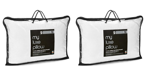 Bloomingdale's My Luxe Asthma & Allergy Friendly Soft/Medium Down Pillow, Standard/Queen - 100% Exclusive_2