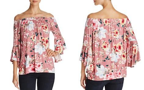 Alison Andrews Off-the-Shoulder Floral Print Blouse - Bloomingdale's_2