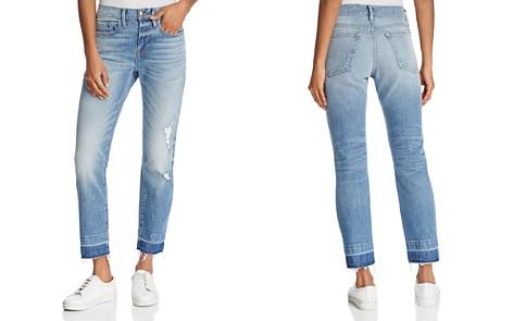 FRAME Le Boy Wide Release Hem Jeans in Klinedale - Bloomingdale's_2