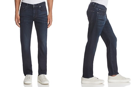 7 For All Mankind AirWeft Slimmy Slim Fit Jeans in Perennial - Bloomingdale's_2