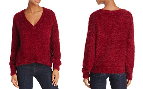 Beltaine V-Neck Fuzzy Sweater - 100% Exclusive - Bloomingdale's_2