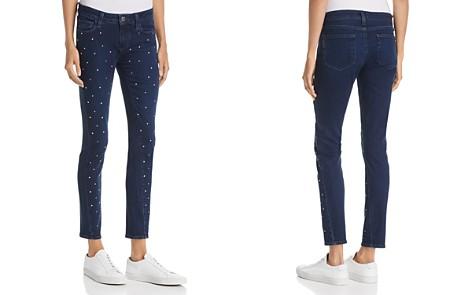 PAIGE Verdugo Embellished Ultra-Skinny Jeans in Indigo Krystal - Bloomingdale's_2
