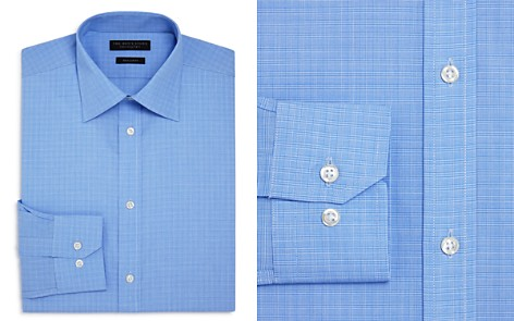 The Men's Store at Bloomingdale's Mini Glen Plaid Regular Fit Dress Shirt - 100% Exclusive_2