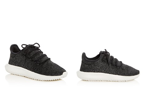 Adidas Women's Tubular Shadow Glitter Knit Lace Up Sneakers - Bloomingdale's_2