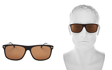 Tom Ford Men's Max Square Sunglasses, 57mm - Bloomingdale's_2