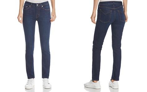Derek Lam 10 Crosby Devi Mid-Rise Authentic Skinny Jeans in Dark Wash - Bloomingdale's_2