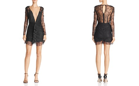 For Love & Lemons Daisy Lace Mini Dress - Bloomingdale's_2