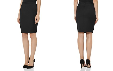 REISS Huxley Textured Pencil Skirt - Bloomingdale's_2