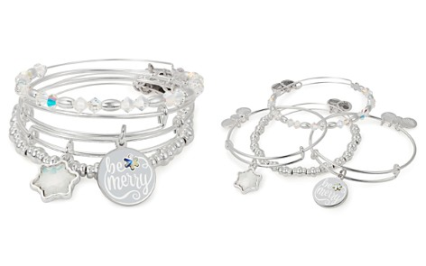 Alex and Ani Be Merry Expandable Wire Bangles, Set of 4 - Bloomingdale's_2