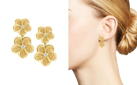 Gumuchian 18K Yellow Gold G Boutique Daisy Diamond Dangle Earrings - Bloomingdale's_2