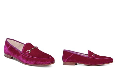 Sam Edelman Women's Loraine Velvet Loafers - Bloomingdale's_2