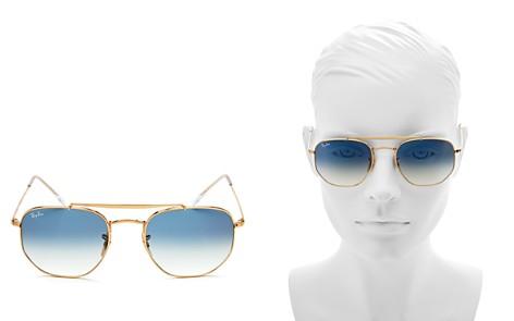 Ray-Ban Marshal Hexagonal Sunglasses, 54mm - Bloomingdale's_2