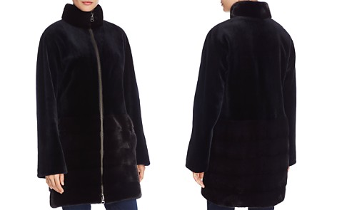 Maximilian Furs Sheared Mink Fur Coat - 100% Exclusive - Bloomingdale's_2