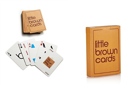 Bicycle Little Brown Playing Cards - 100% Exclusive - Bloomingdale's_2