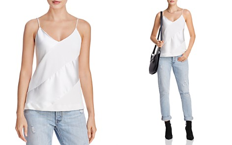 C/MEO Collective Translation Textured & Satin Top - Bloomingdale's_2