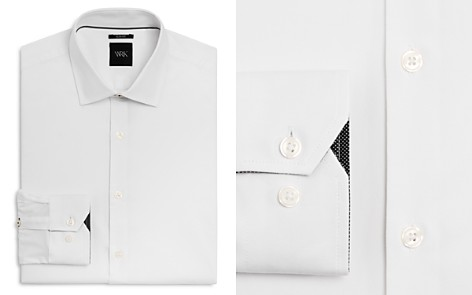 WRK Solid Stretch Slim Fit Dress Shirt - Bloomingdale's_2