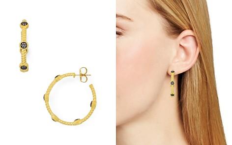 Freida Rothman Twist Paveé Hoop Earrings - Bloomingdale's_2