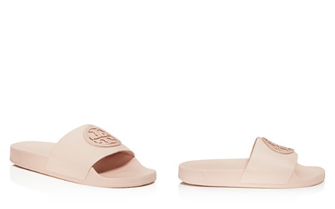 Tory Burch Women's Lina Leather Pool Slide Sandals - Bloomingdale's_2