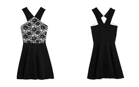 AQUA Girls' Lace-Bodice Dress, Big Kid - 100% Exclusive - Bloomingdale's_2