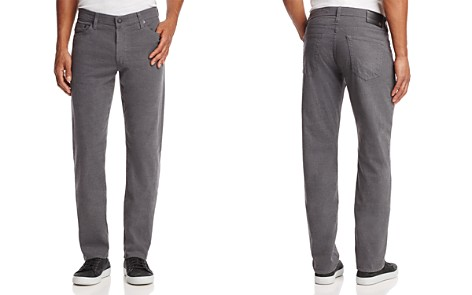 AG The Graduate Slim Straight Fit Jeans in Grey - Bloomingdale's_2
