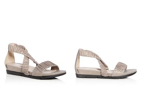 Eileen Fisher Women's Dylan Metallic Suede Demi Wedge Sandals - Bloomingdale's_2