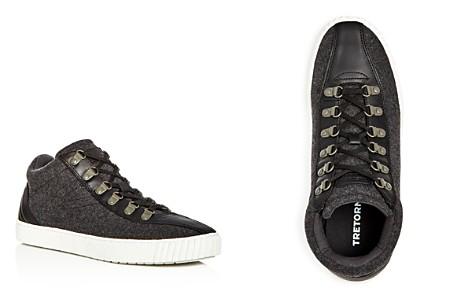 Tretorn Men's Dante Wool & Leather Mid Top Sneakers - Bloomingdale's_2