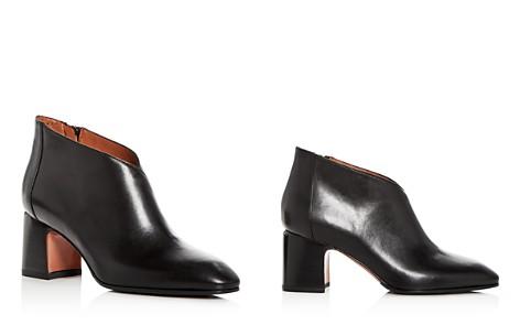 Aquatalia Women's Elodina Weatherproof Leather Block Heel Booties - Bloomingdale's_2