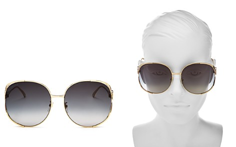 Gucci Women's Oversized Round Sunglasses, 63mm - Bloomingdale's_2