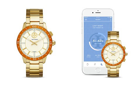 Tory Burch ToryTrack Collins Gold-Tone Hybrid Smartwatch, 38mm - Bloomingdale's_2
