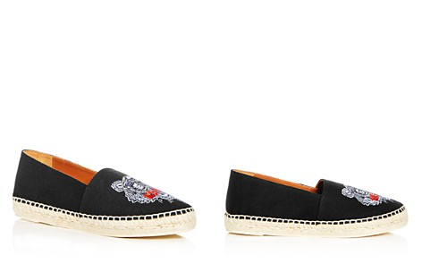 Kenzo Women's Tiger Embroidered Espadrille Flats - Bloomingdale's_2