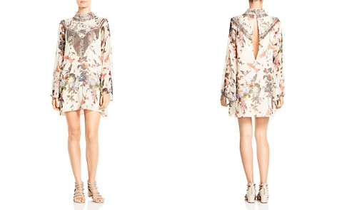 Haute Hippie Through The Looking Glass Embellished Silk Dress - Bloomingdale's_2