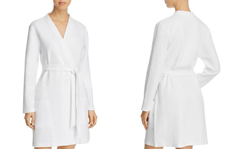 Naked Spa Piqué Cotton Robe - Bloomingdale's_2