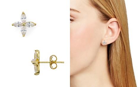 AQUA Sterling Silver Floral Stud Earrings - 100% Exclusive - Bloomingdale's_2