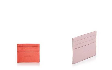 Longchamp Le Foulonne Leather Card Case - Bloomingdale's_2