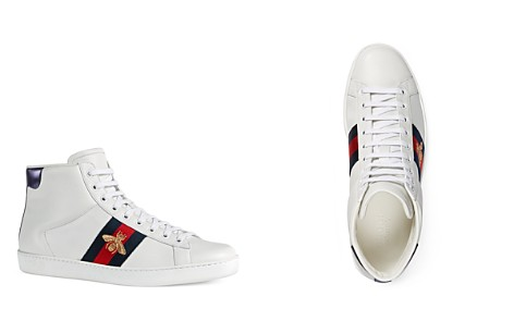 Gucci Men's Leather High Top Sneakers - Bloomingdale's_2