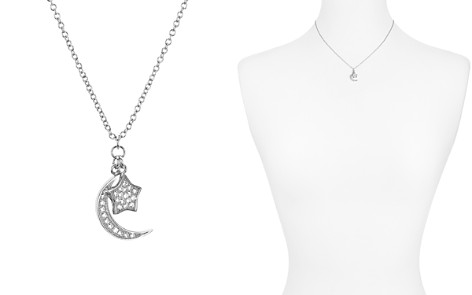 """AQUA Sterling Silver Star & Moon Pendant Necklace, 16"""" - 100% Exclusive - Bloomingdale's_2"""