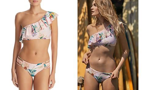 ISABELLA ROSE Blossoms Asymmetric Bikini Top & Blossoms Tab Maui Bikini Bottom - Bloomingdale's_2
