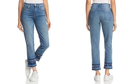 Hudson Zoeey Custom Double-Hem Straight Jeans in Social Grace - Bloomingdale's_2