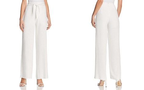 AQUA Tie-Waist Wide-Leg Pants - 100% Exclusive - Bloomingdale's_2