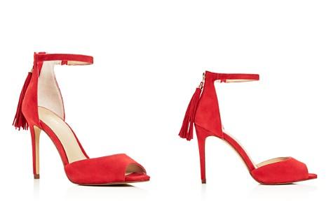Botkier Women's Anna Suede Ankle Strap High Heel Sandals - Bloomingdale's_2