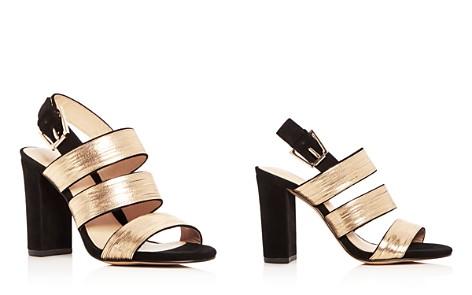 Botkier Women's Genesa Chain Embellished Suede High Block Heel Sandals - Bloomingdale's_2