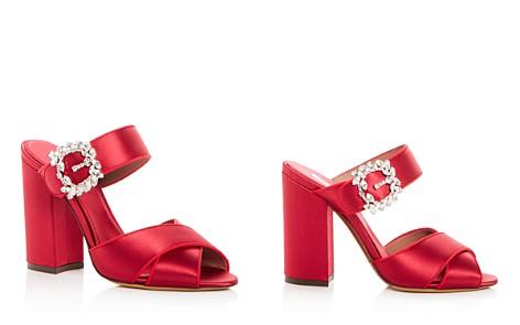 Tabitha Simmons Women's Reyner Embellished Satin High Block Heel Slide Sandals - Bloomingdale's_2