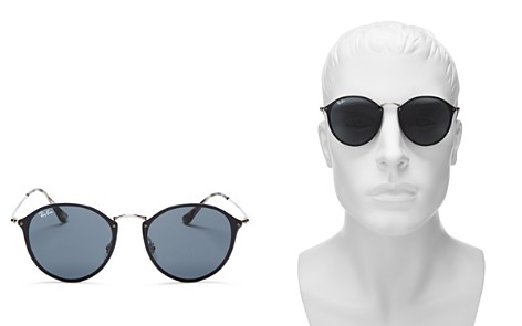 Ray-Ban Unisex Blaze Rimless Round Sunglasses, 59mm - 100% Exclusive - Bloomingdale's_2
