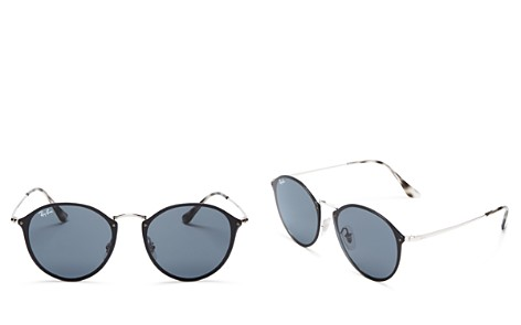 Ray-Ban Women's Unisex Blaze Rimless Round Sunglasses, 59mm - 100% Exclusive - Bloomingdale's_2