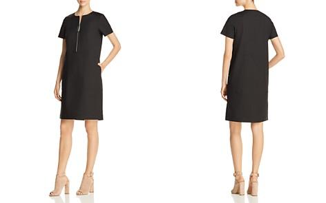 Lafayette 148 New York Archie Zip-Front Dress - Bloomingdale's_2