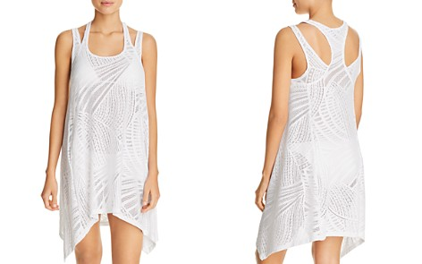 J. Valdi Sea Burnout Double Strap Dress Swim Cover-Up - Bloomingdale's_2