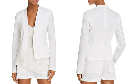 Theory Open-Front Blazer - Bloomingdale's_2